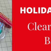 Holidays 2020 | Clear Vinyl Bag | Discount Fabric Warehouse
