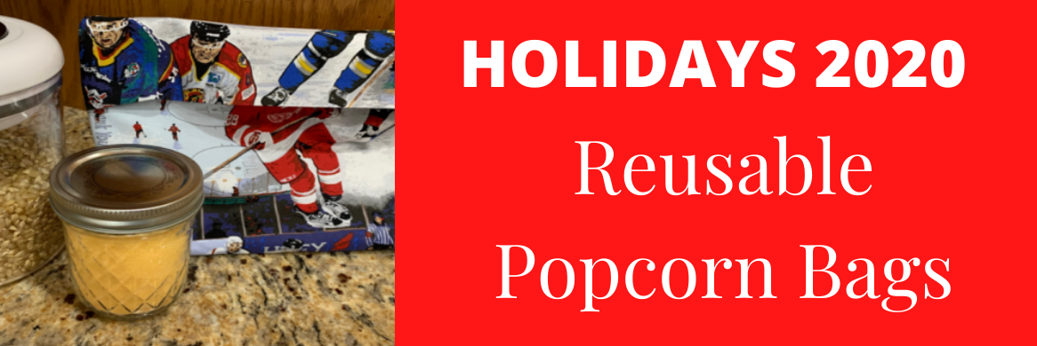 Holidays 2020 Reusable Popcorn Bag Project | Discount Fabric Warehouse